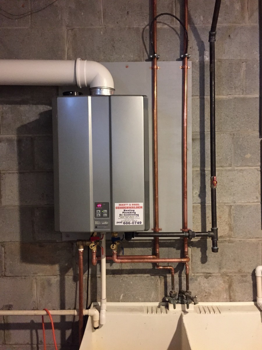 Tankless On Demand Water Heater in Union NJ Max Sr Paul