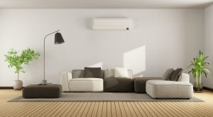 wall-mounted-air-handler-in-modern-living-room