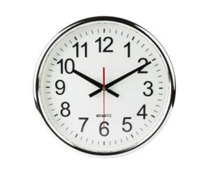 analog-clock-on-wall
